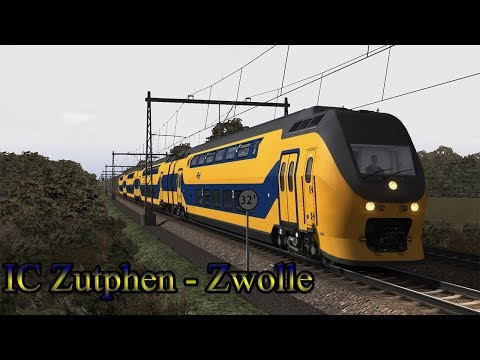 IC Zutphen  Zwolle  Train Simulator 2018