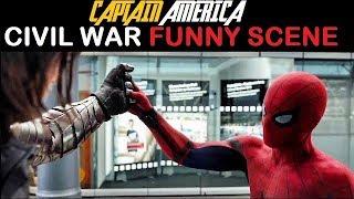 Captain America Civil War Funny Scenes [in HINDI]