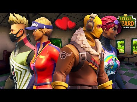 DRIFT AND RAPTOR DOUBLE DATE! * SEASON 5 *Fortnite Short Film