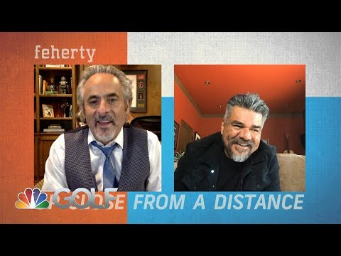 Feherty Up Close from a Distance with George Lopez   Golf Channel