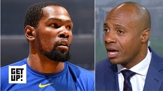The Raptors will win the NBA Finals in 7 games if KD doesn't play - Jay Williams | Get Up!