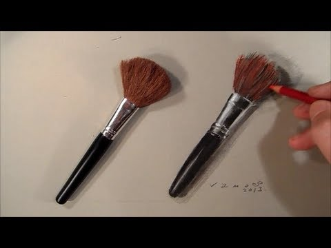 Realism Challenge 5 Drawing A Makeup Brushes Time Lapse Youtube