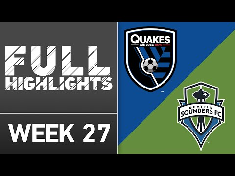 HIGHLIGHTS | San Jose Earthquakes 1-1 Seattle Sounders FC