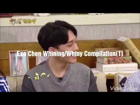 Exo Chen Whining/Whiny Compilation (1) (caution earphone users)