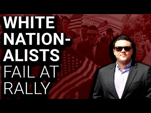 White Nationalists Faceplant at Pathetic Failed Rally
