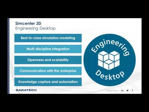 Streamline Simulation Processes with Simcenter 3D