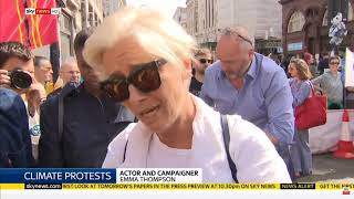 Sky News -  Day #5 London Actions - Extinction Rebellion - April 19th