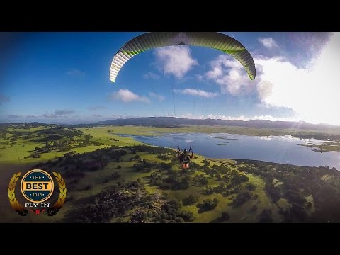 INCREDIBLE PARAMOTOR FOOTAGE 2016 - From BlackHawk's Fly In Events!