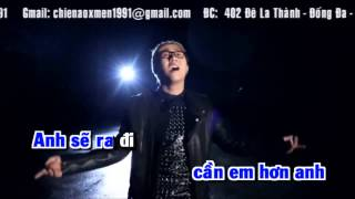 [Karaoke Yokara] Gọi Mưa - Trung Quân Idol Beat Gốc