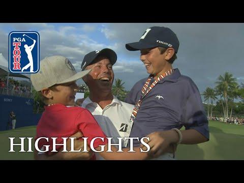 Matt Kuchar?s winning highlights from Sony Open 2019
