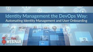 Identity Management the DevOps Way