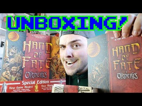 Hand of Fate: Ordeals || UNBOXING FULL KS!