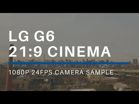 LG G6 Cinema  21:9 Camera Sample of NYC