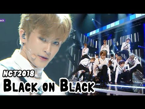 [HOT] NCT 2018 - Black on Black, 엔시티 2018 - 블랙 온 블랙 Show Music core 20180421