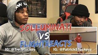 SoLLUMINATI vs FLIGHT 1v1 - REACTION