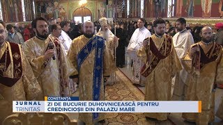 Zi de bucurie duhovniceasca pentru credinciosii din Palazu Mare