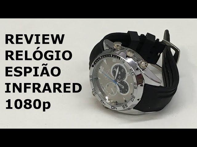 RELÓGIO ESPIÃO INFRARED 1080p (Review)