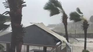 Hurricane Michael Blows Roof Off - 1007480