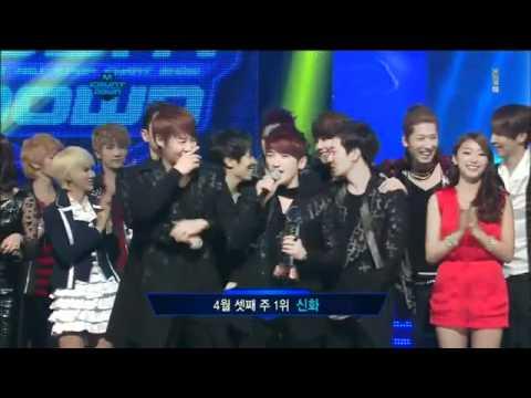 Shinhwa - M CountDown 2012-04-19's Winner - Shinhwa VENUS
