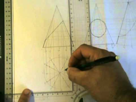 Development And True Shape Of Truncated Cone Part 2 James