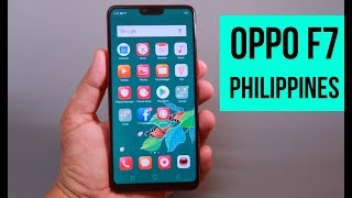 OPPO F7 Philippines Hands On,  Specs, Features Rundown