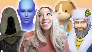 HAVING BABIES WITH ALL OF THE MAGICAL CREATURES IN THE SIMS 4 👽🎅🏼 💀🐰 PART 1 [MYSTICAL MOTHERHOOD]