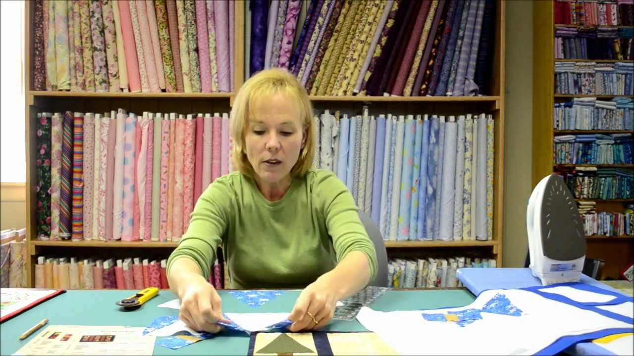 Quilting Tutorial More Quilt As You Go Placemats Youtube