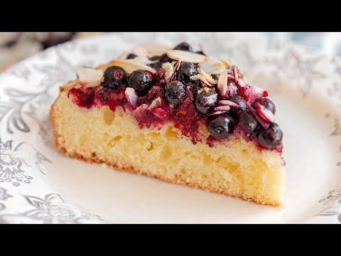 Беру любую ягоду! ЯГОДНЫЙ ЛИМОННЫЙ ПИРОГ | простой рецепт со смородиной