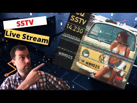 SSTV Happy Hour - Hang out and send some SSTV images