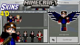 Skins D Para Minecraft SkinsPacks D Minecraft Pe - Skins para minecraft pe en 4d
