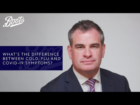 boots.com & Boots Voucher Code video: Coronavirus advice | What's the difference between cold, flu and COVID-19 symptoms? Boots UK