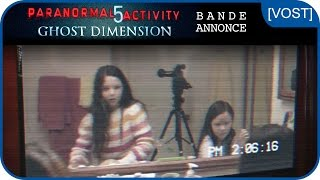 Paranormal activity 5 ghost dimension :  bande-annonce VOST