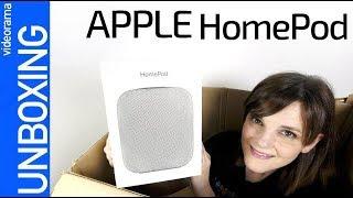 Apple HomePod unboxing -¿el rival más DEBIL?-