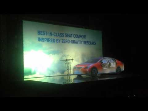 Projection Mapping on Nissan Altima launch in Kuwait
