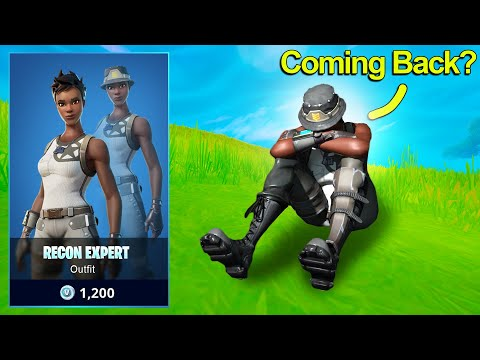 """RECON EXPERT """"Will it Return in the Item shop?"""" (Fortnite Battle Royale)"""