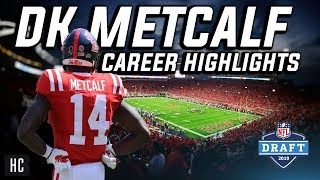 FREAK of Nature 😈 DK Metcalf Career Highlights - Ole Miss Rebels Wide Receiver ᴴᴰ
