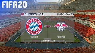 FIFA 20 - FC Bayern München vs. RB Leipzig @ Sanderson Park