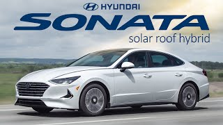 The 2020 Hyundai Sonata Hybrid (with SOLAR ROOF) is the BEST Commuter car ever