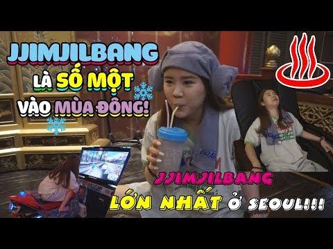 JJIMJILBANG là số một vào mùa đông! Đến thăm JJIMJILBANG LỚN NHẤT ở SEOUL!!!