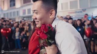 """Cầu hôn bạn gái trên phố đi bộ hồ Gươm """"Thành Luân S2 Đoàn Chuyên"""" -  Hà Nội 11/03/2018"""