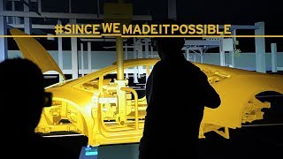 Manifattura Lamborghini: the cutting-edge 4.0 factory
