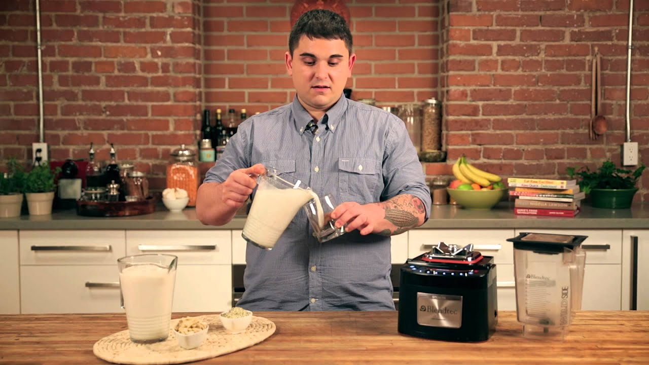 Easy, Raw, Homemade Nut and Seed Milk with Doug McNish