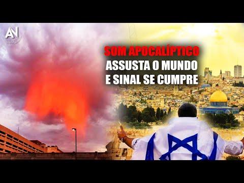 Som Apocalíptico surge no Céu e Grande SINAL BÍBLICO acaba se cumprir em ISRAEL