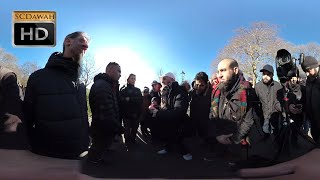 Live 360 video from Speakers Corner