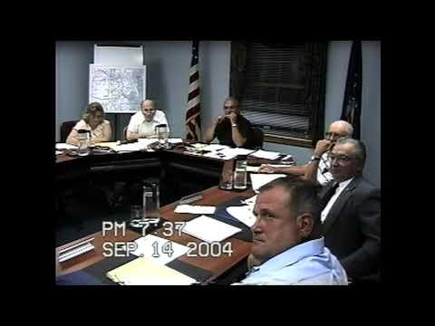 Champlain Town Board Meeting  9-13-04