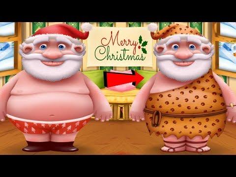 Fun Santa Care Kids Game - Santa's Little Helper - Let's Help Santa Dress Up Cleaning Fun Games