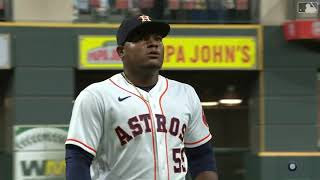 Houston Astros - Framber Valdez Strikes out 11 batters with his Curveball