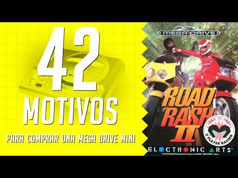 Road Rash II. 42 motivos para comprar una Mega Drive Mini. (40/42)