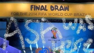 The World Cup Draw 2014. Asa's Commentary.