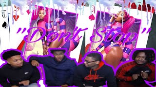 Megan Thee Stallion - Don't Stop (feat. Young Thug) [Official Video] REACTION